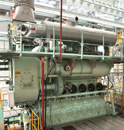 スロー船舶モーター / ディーゼル式 / Tier 3