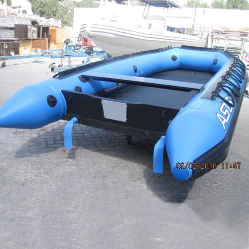 船外インフレータブルボート / 折り畳み式 / 10人