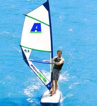 初心者用ウインドサーフィンの帆
