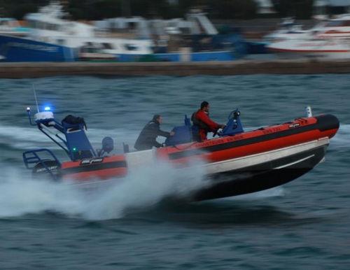 実用ボート業務用ボート / 船内 / 船外 / アルミ製