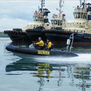 作業船業務用ボート / 船外 / 複合艇