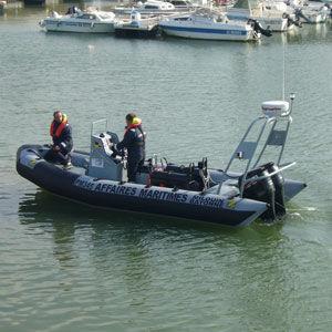 監視船業務用ボート / 船外 / 複合艇