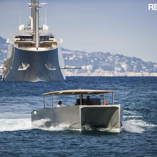 作業船業務用ボート / 上陸用舟艇 / カタマラン / ディーゼル式