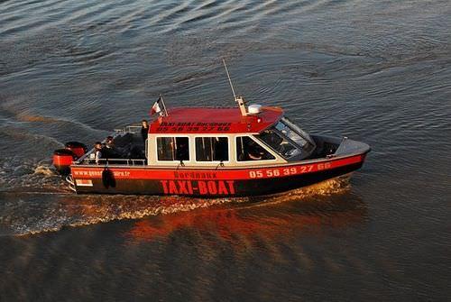 水上バス業務用ボート / 船外機 / アルミ製