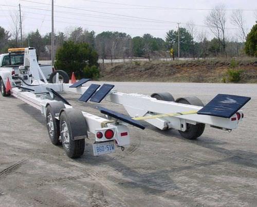 重量運搬用トレーラー / ボート用 / 油圧