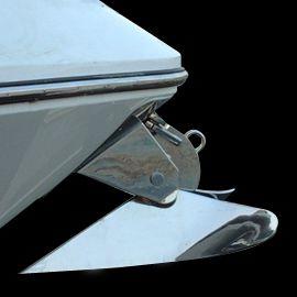 Delta型アンカー / ボート用 / ステンレススチール製