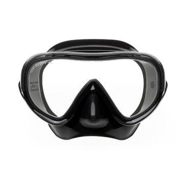単一ガラス潜水マスク