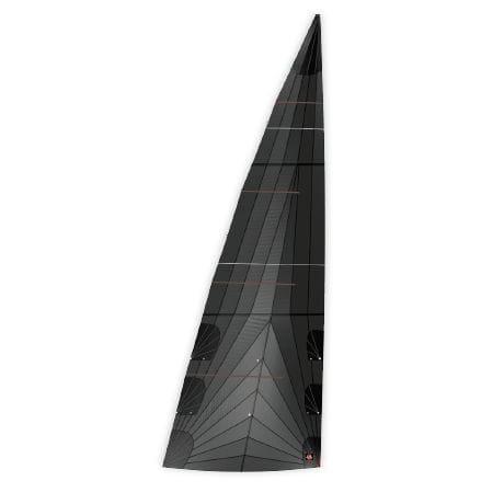 大帆 / 競技用ヨット用 / トリラジアルカット / ポリエステル