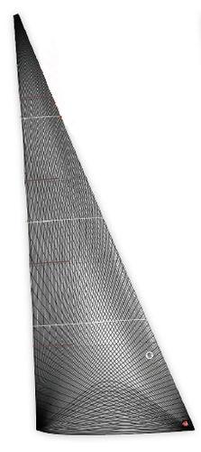 前面帆 / 競技用ヨット用 / メンブレン / 炭素
