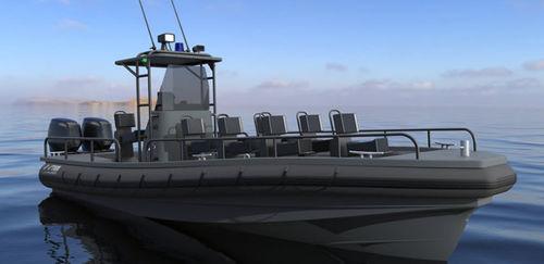 監視船業務用ボート / 作業船 / 客船 / 軍船