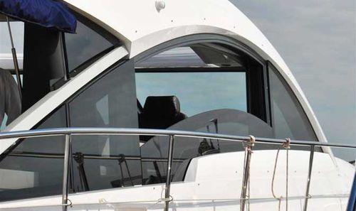 ヨット用窓 / 固定 / スライド式 / 湾曲