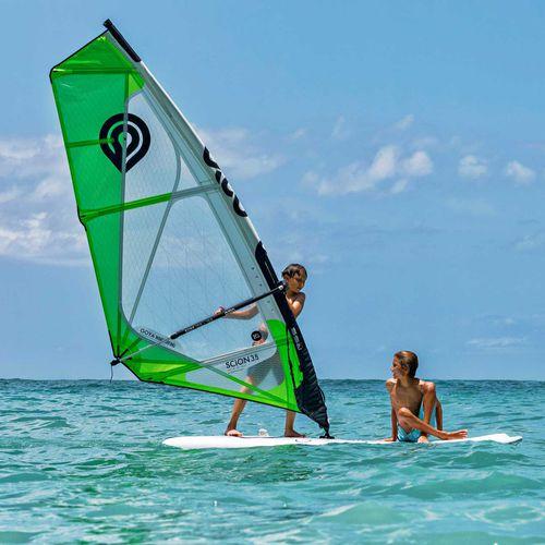 全周ウインドサーフィンの帆 / 子供用 / 3バテン