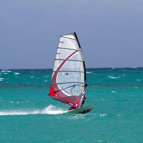 フリーライドウインドサーフィンの帆 / 6バテン