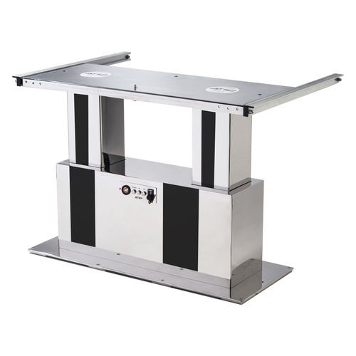 調節可能テーブル用柱脚