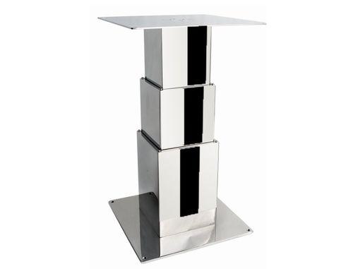 電動テーブル用柱脚