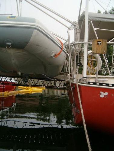 ボート用ダビット / 手動式 / 回転