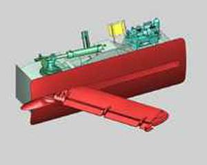 船用安定装置 / 格納