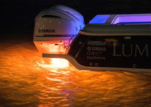 ボート用海中照明 / LED / 表面取り付け / マルチカラー