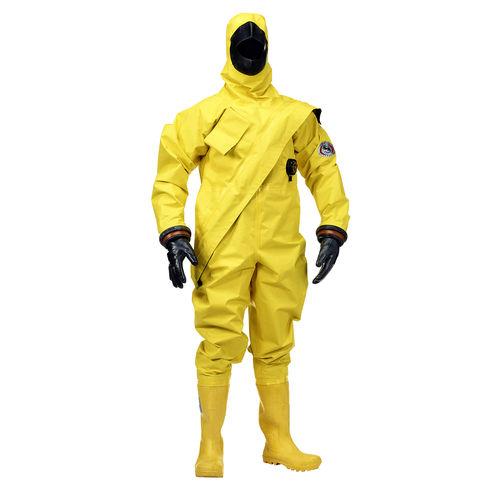 救命スーツ / 業務用 / ドライスーツ / フード付き
