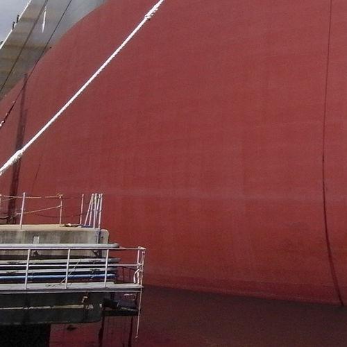 商船用汚染防止材塗装