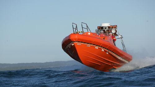 船用救助ボート / 船内 / ハイドロジェット