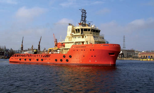 アンカハンドリング引き船オフショア支援船