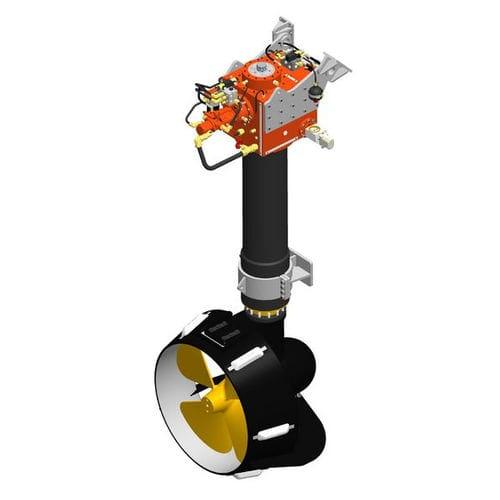 アジマススラスタ- / 船用 / 油圧式 / 外部取付け