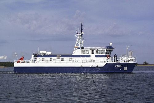 海洋観測船業務用ボート