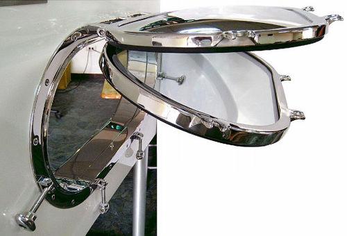 円形小窓 / ボート用 / オープン