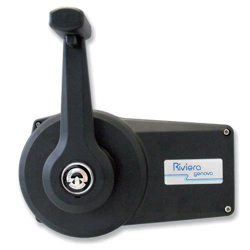 エンジン用制御レバー / 機械的 / 単一レバー / ボート用