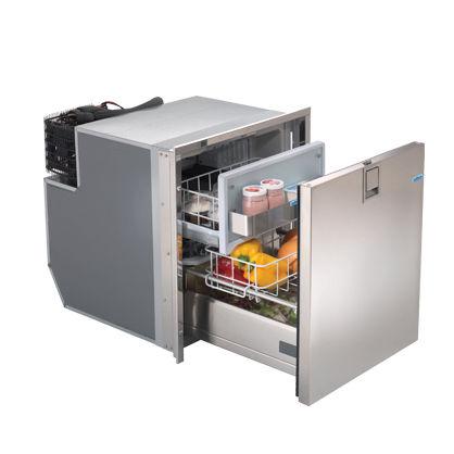 ボート用冷蔵庫/冷凍庫 / はめ込み式 / ステンレススチール製 / 引き出し