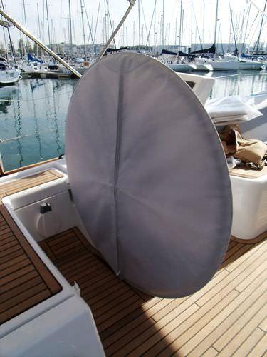 安全カバー / 帆船用 / 車輪付バー用