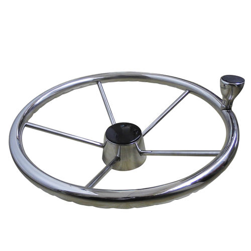 ステンレススチール製ステアリングハンドル