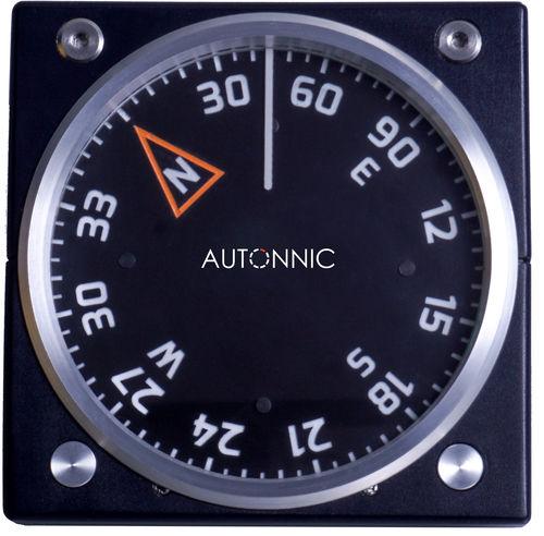 ボート用ルートコンパス / 磁気 / 横型 / 縦型
