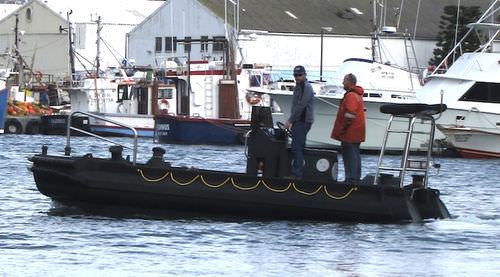 作業船業務用ボート / インボードウォータージェット / 船外 / HDPE