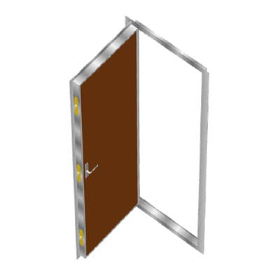 船用ドア / A60 / 屋内 / ステンレススチール製