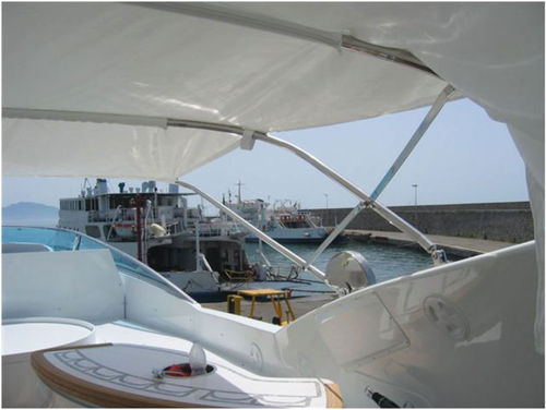 ボート用ビミニトップ / コックピット / ステアリングステーション