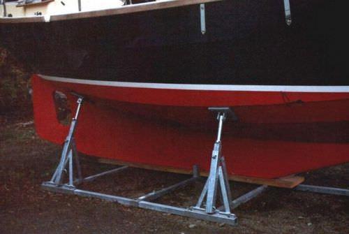 ボート用船台 / 調節可能
