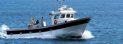 マグロ引網漁船業務用ボート