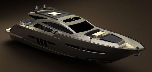 クルージングモーターヨット / ハードトップ / 移動用船艇