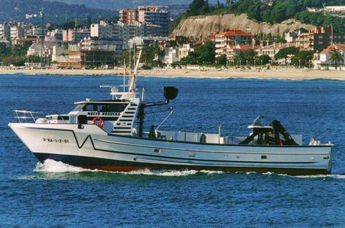 業務用漁船 / 船内