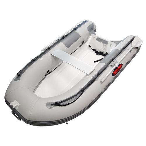 船外インフレータブルボート / 半硬式 / アルミ製 / グラスファイバー
