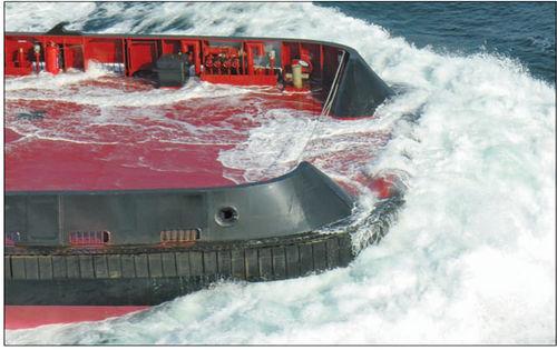 タグボート防舷物 / ロバスト設計用 / 船首 / コーナータイプ