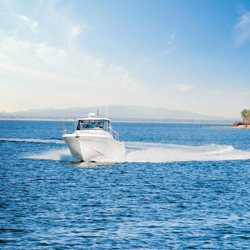 船外機漁船 / ツインエンジン式 / ハードトップ / グラスファイバー