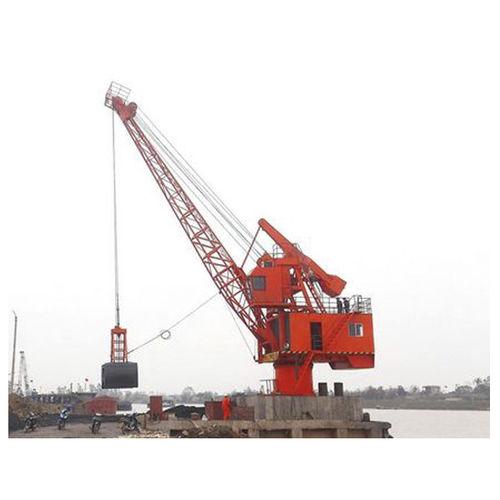 港湾クレーン / 移動式 / ラッフィングジブ