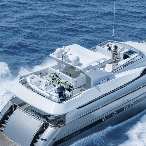 カバー船内装用布 / ビミニトップ / 冬用オーニング / ポリエステル