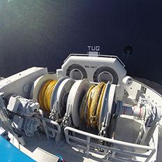 牽引用ウィンチ / 船用 / タグボート / 油圧モーター