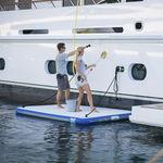 ヨット用プラットフォーム / 水泳 / 膨張式 / 搭乗