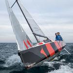 モノハル / 海洋クルージング / レース用 / オープントランサム