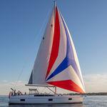 クルージング帆船 / オープントランサム / ブリッジサロン / キャビン3つ